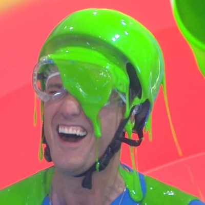 #TeamOasis gets messy with #DoubleDare on the Today Show!