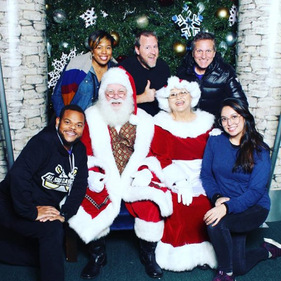 While out on the road with the Polly Pocket: Tiny is Mighty Tour, some of #TeamOasis went to visit Mr. and Mrs. Claus! What are you asking Santa for this year?