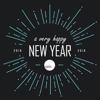 As 2018 comes to a close, #TeamOasis has a lot to be grateful for. We are looking forward to a new year filled with continued successes and special partnerships with some of the industry's best clients and brands. Happy New Year!