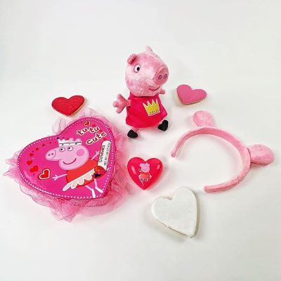 We love Peppa Pig Valentines!